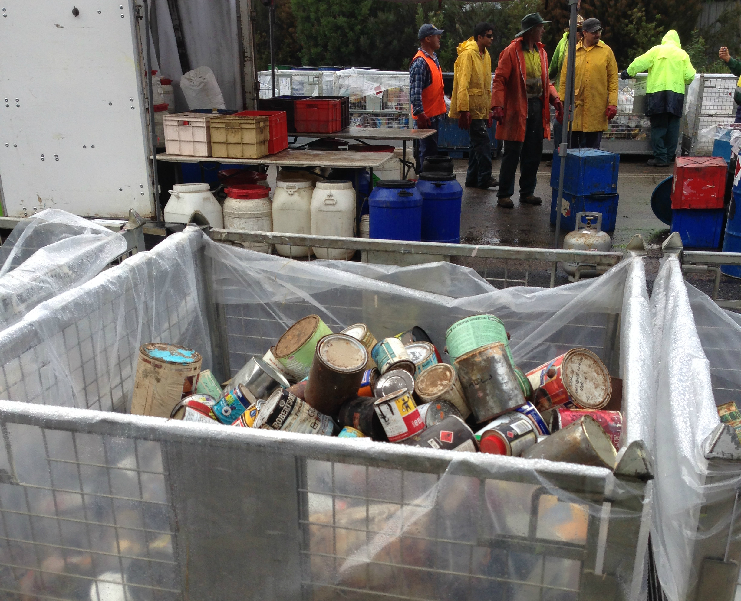 chemical cleanout 2014