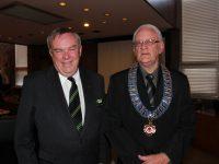 L-R: Deputy Mayor Clr Ian Scandrett and Mayor Clr Ken Halstead