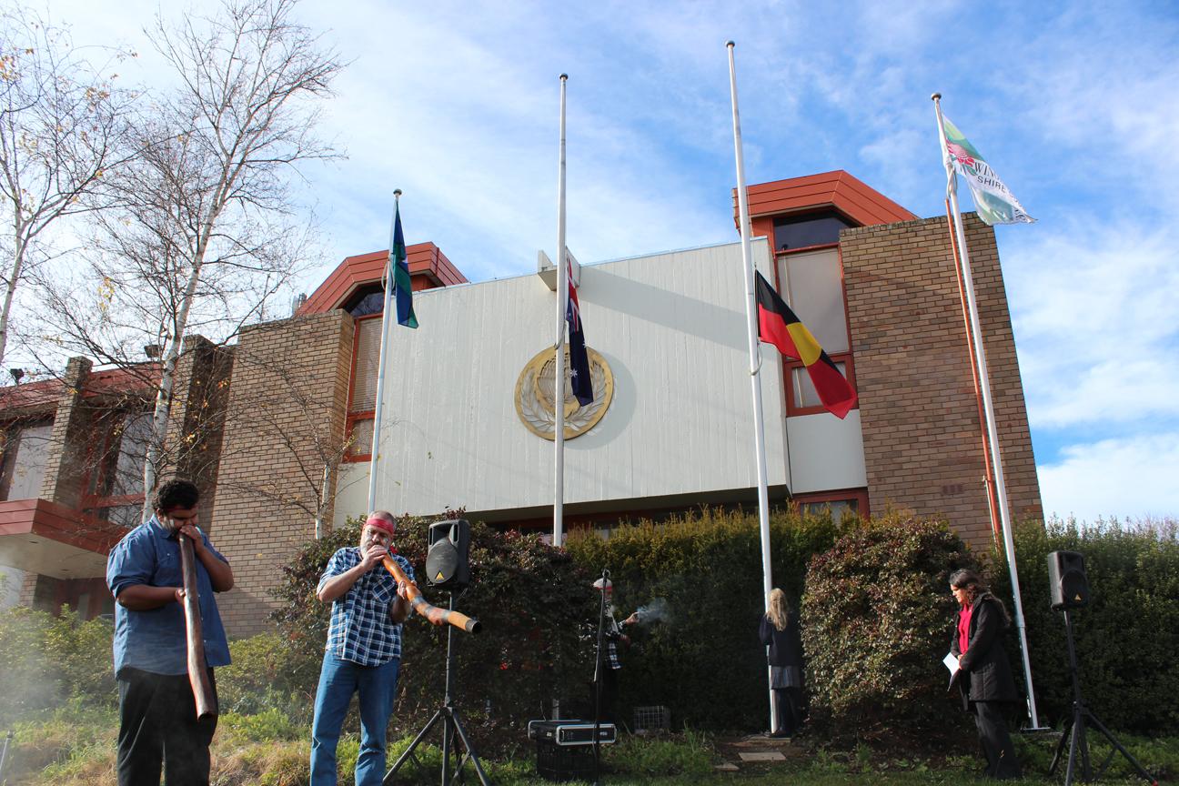 NAIDOC Flag Raising 2016