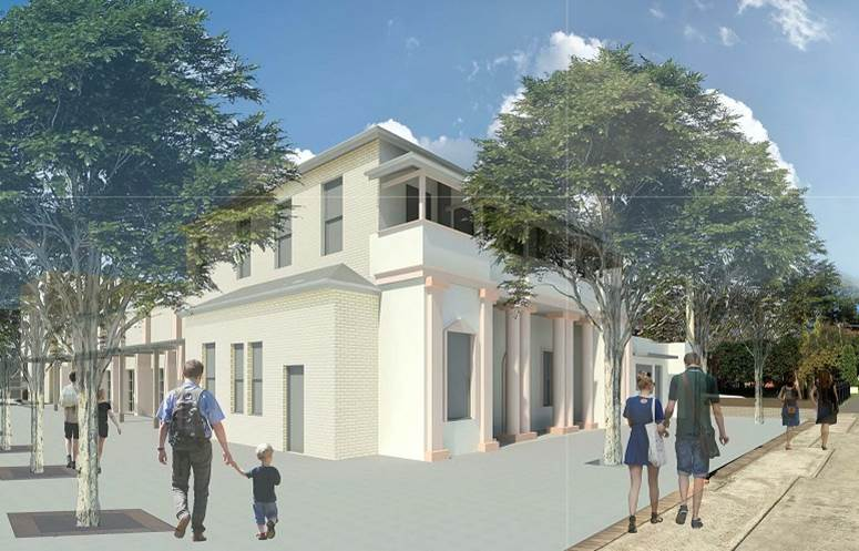 Bowral Memorial Hall Artists Impression
