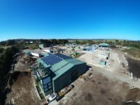 Aerial shot of the RRC in Moss Vale