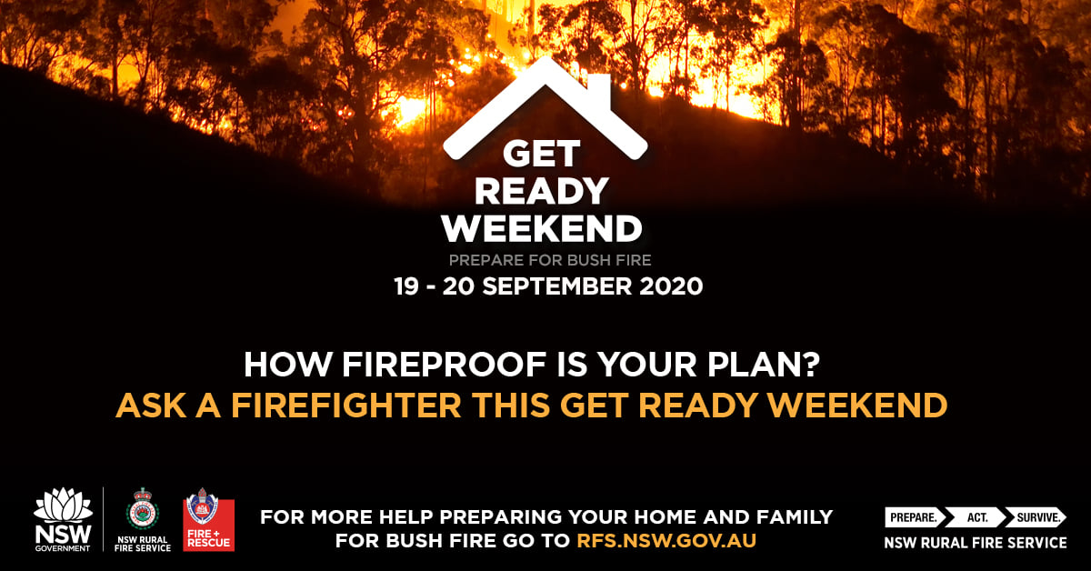 RFS Get Ready Weekend banner