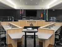Council chambers 2021