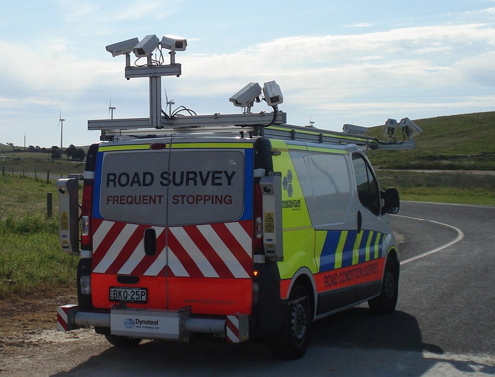 Road survey camera vans to carry out street audit