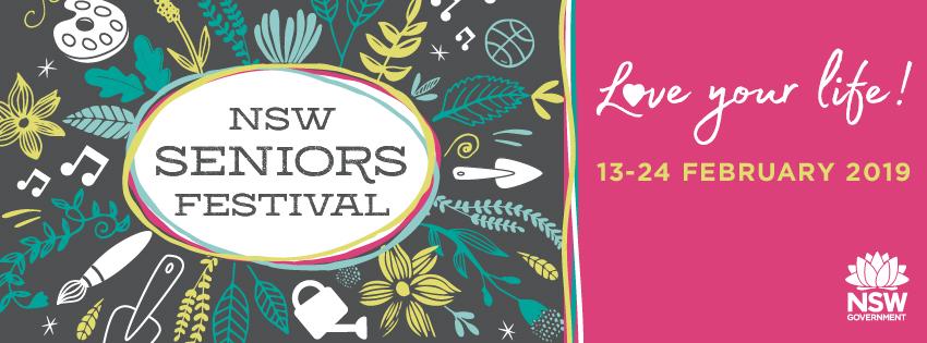 2019 Seniors Festival logo