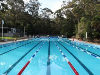 View of Mittagong's 50 metre pool