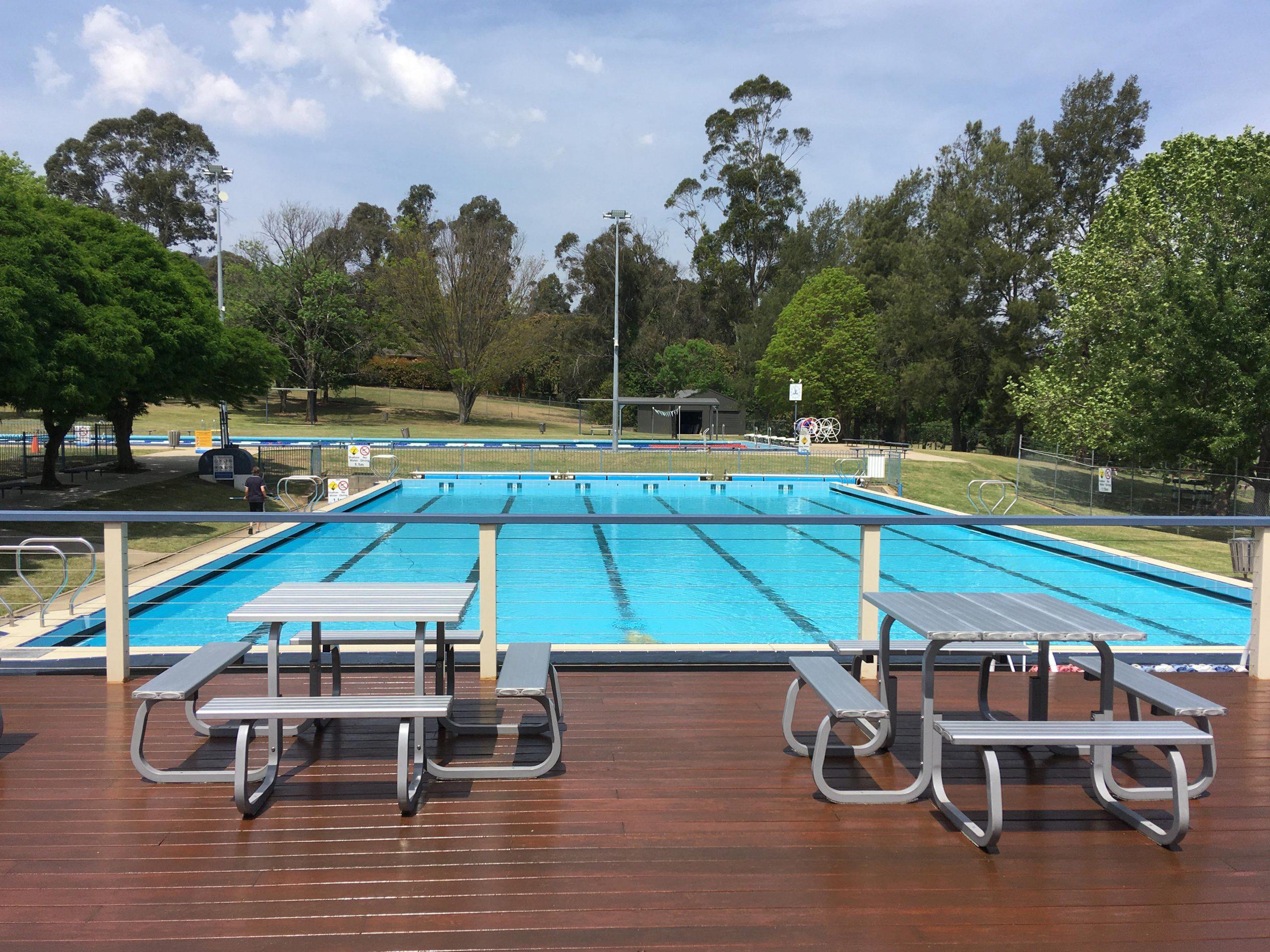 View of Bowral Pool
