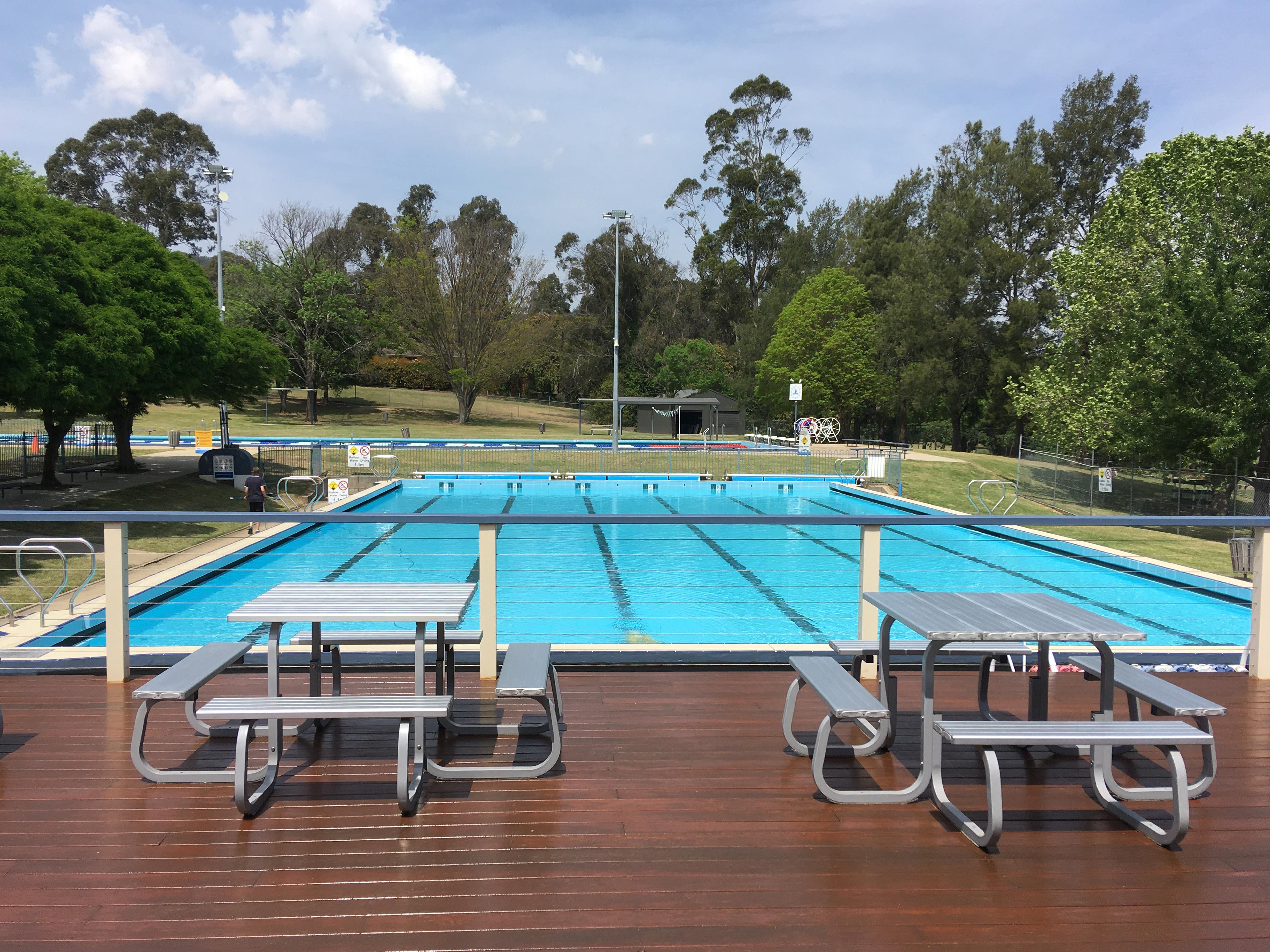 View of Bowral Pool