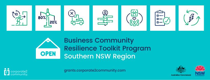 Business Community Resilience Toolkit Program banner